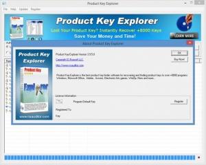 Enlarge Product Key Explorer Screenshot