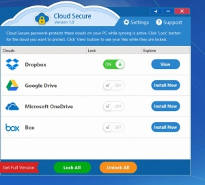 Enlarge Cloud Secure Screenshot