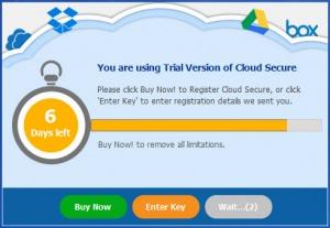 Enlarge Cloud Secure Screenshot