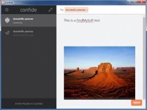 Enlarge Confide Screenshot