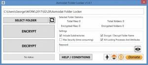 Enlarge Asmodat Folder Locker Screenshot