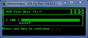 Enlarge USB File Resc Screenshot