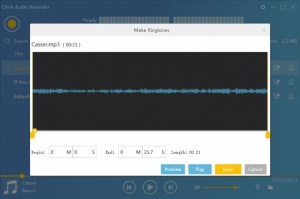 Enlarge Cinch Audio Recorder Screenshot