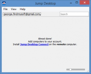 Enlarge Jump Desktop Screenshot