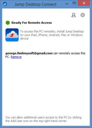 Enlarge Jump Desktop Screenshot