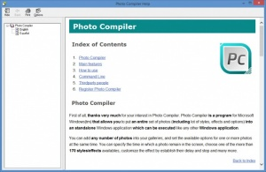 Enlarge Photo Compiler Screenshot