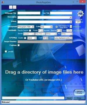 Enlarge PhotoPagegen Screenshot
