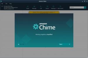 Enlarge Amazon Chime Screenshot