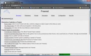 Enlarge Freenet Screenshot
