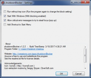 Enlarge shutdownBlocker Screenshot
