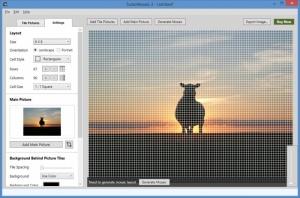 Enlarge TurboMosaic Screenshot