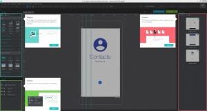 Enlarge Justinmind Prototyper Screenshot