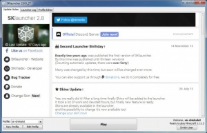 Enlarge SKlauncher Screenshot