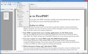 Enlarge FlexiPDF Screenshot