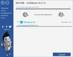 Enlarge WinUSB Screenshot