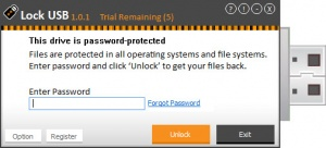 Enlarge Lock USB Screenshot