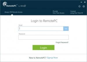 Enlarge RemotePC Screenshot