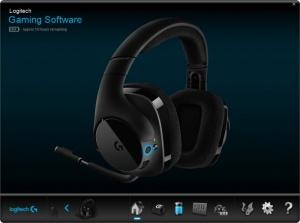 Enlarge Logitech Gaming Software Screenshot