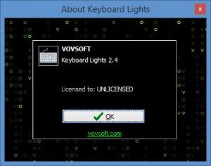 Enlarge Keyboard Lights Screenshot