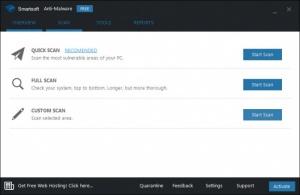 Enlarge Smartsoft Anti-Malware Screenshot