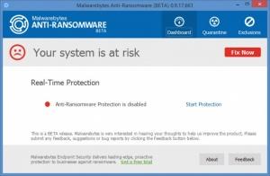 Enlarge Malwarebytes Anti-Ransomware Screenshot