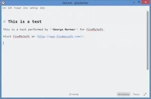 Enlarge Ghostwriter Screenshot