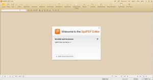 Enlarge SpdPDF Editor Screenshot