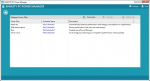 Enlarge Annuity PC Power Manager Screenshot