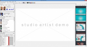 Enlarge Studio Artist Screenshot