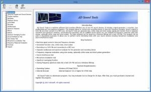 Enlarge AD Sound Tools Screenshot