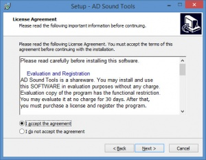 Enlarge AD Sound Tools Screenshot