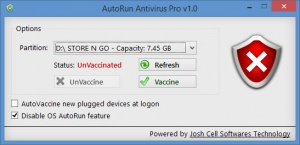 Enlarge AutoRun Antivirus Pro Screenshot