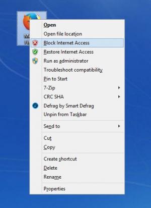 Enlarge OneClickFirewall Screenshot