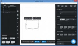 Enlarge Vectr Screenshot