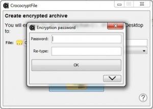 Enlarge CrococryptFile Screenshot
