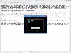 Enlarge Text Edit Plus Screenshot