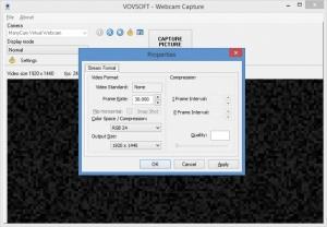 Enlarge Vovsoft Webcam Capture Screenshot