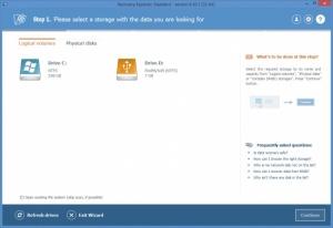 Enlarge Recovery Explorer Screenshot
