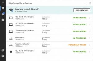 Enlarge Bitdefender Home Scanner Screenshot