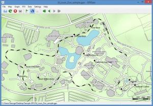 Enlarge GPXSee Screenshot