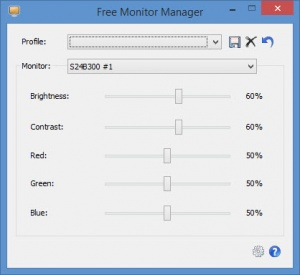 Enlarge Free Monitor Manager Screenshot