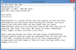 Enlarge WebSiteSniffer Screenshot
