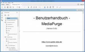 Enlarge MediaPurge Screenshot