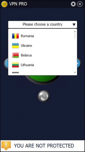 Enlarge VPN Pro Screenshot