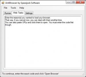 Enlarge AntiBrowser Screenshot