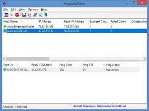 Enlarge PingInfoView Screenshot
