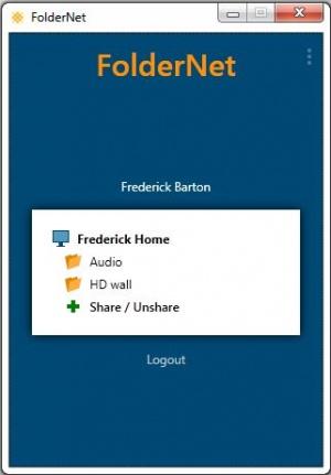 Enlarge FolderNet Screenshot