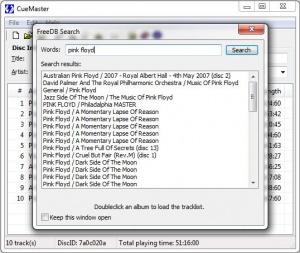 Enlarge CueMaster Screenshot