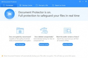 Enlarge 360 Document Protector Screenshot