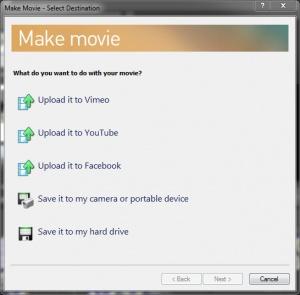 Enlarge VEGAS Movie Studio Screenshot